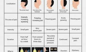 Headache Chart Template 18 Prototypical Headache Charts