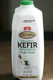 kefir. olympic dairy organic vanilla kefir