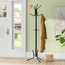 Home To Office Solutions Coat Rack Bedroom Clothes Tree Rack Wayfair 100