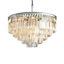 odeon crystal chandelier clear glass fringe 5 tier 7 tier chandelier odeon crystal fringe 3 tier