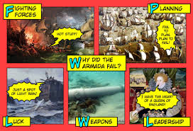 why did the spanish armada fail comic strip jivespin  reasons why the spanish armada fail i created it to help my students prepare for an assessment and this visual resource will help them organise their