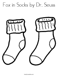Small Picture Fox in Socks by Dr Seuss Coloring Page Twisty Noodle