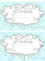Printable Gift Certificates Templates Free Inspiration Romantic Gift Certificate Template Dipmycarco