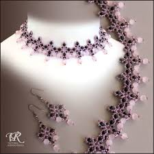 Beaded Necklace Patterns Mesmerizing Free Pattern For Beaded Necklace Pink Flamingo Beads Magic