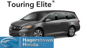 Here's a look at the 2016 odyssey. 2016 Honda Odyssey Touring Elite Colors Hagerstown Honda Youtube