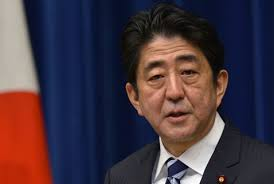 Japonya Başbakanı Şinzo Abe de ile ilgili görsel sonucu