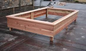 above ground garden designs how to make your own garden boxes healthy ideas for kids above