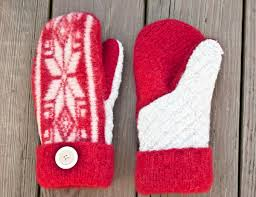 Sweater Mitten Pattern Custom Inspiration Design