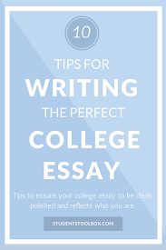 tips for writing the perfect college application letter
