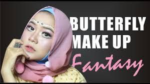 nandaarsyintabday fantasy makeup erfly