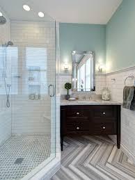 Elegant Gray And White Bathrooms Hd9b13