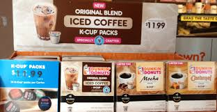 keep in mind the is very consistent from dunkin and their k cups are 14 cup packs