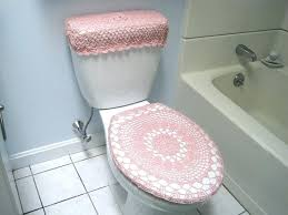 toilets oblong toilet seat cover crochet pattern for both standard and elongated burdy