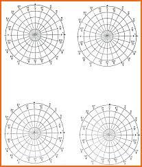 Polar Graphing Paper Milenaverbel Com Co