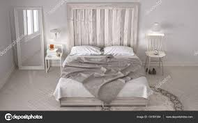 Diy Schlafzimmer Bett Mit Kopfteil Aus Holz Skandinavische Weiße