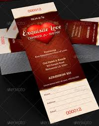 Samples Of Tickets For Events Amazing Ticket Templates For Church And Fundraising Events