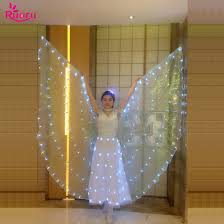 <b>Ruoru Belly Dance</b> Led Isis Wings with Adjustable Sticks Adult ...