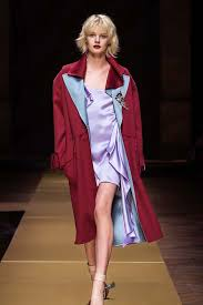 latest coats 2017 atelier versace winter couture collection red coat