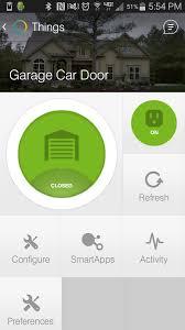 iris z wave garage door controller smartthings fluidelectric