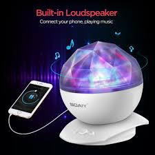 Soaiy Night Light Projector Details About Soaiy Rotation Sleep Soothing Color Changing Aurora Night Light Projector With