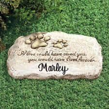 personalized pet memorial stones for