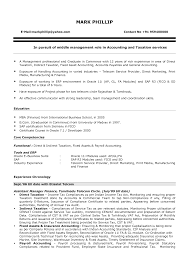 Sample Staff Accountant Resume Accounting Resume Objective 9