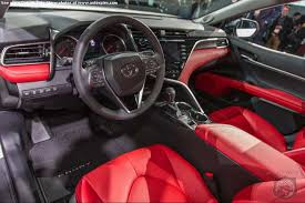 2018 toyota camry interior. delighful toyota detroit auto show intended 2018 toyota camry interior