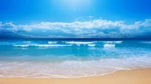 View of beach HD wallpaper