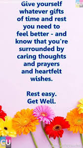 Get Well Quotes Gorgeous 48 Inspiring And Funny Get Well Soon Quotes And Poems For Your Family
