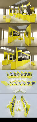 Creative exhibition booths for trade-shows created by  TriadCreativeGroup.com inspired by artistic design