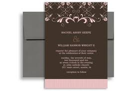 5x7 border template brown pink border indian wedding invitation ideas 5x7 in vertical