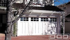 coastal garage doorsCoastal Cottage Custom Architectural Garage Door With