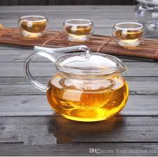 heat resistant borosilicate glass tea pot jpg