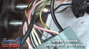 factory stereo wiring diagram ford mustang 2010 2014 youtube 1967 Mustang Wiring Diagram at 99 04 Mustang Speaker Wiring Diagram