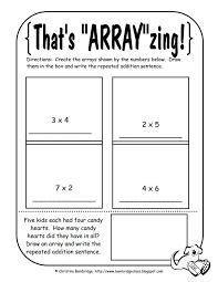 Ideas About Array Math Worksheets, - Easy Worksheet Ideas