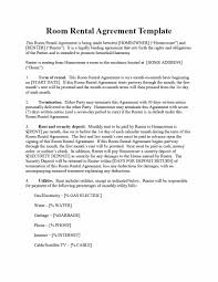 Generic Rental Agreement Template Equipment Lease Agreement Word Template 14