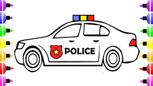 Coloring Pages Coloringges Police Car Free Printables For Adults