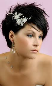 Coiffure Mariage Cheveux Court Headband Coupe Cheveux Degrade