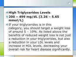 Triglycerides Level Chart Mmol L Triglycerides Levels