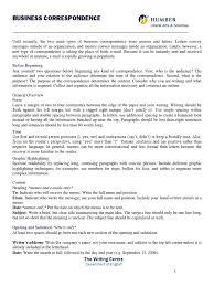 Business Correspondence Pdf Email Linguistics