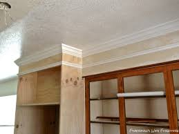 Knock Down Kitchen Cabinets Fishermans Wife Furniture Covering Fur Down The Space Above