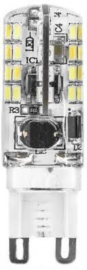 Светодиодная <b>лампа Gauss Led G9</b> AC150-265V 3W 2700K ...