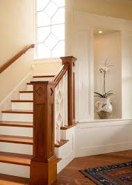 craftsman style staircase victorian with stairs traditional bathroom vanity lights