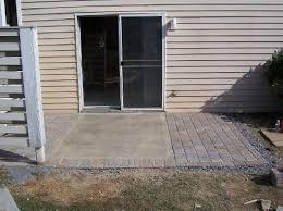 pleasant concrete patio  amusing concrete slab patio ideas with interior home paint color idea