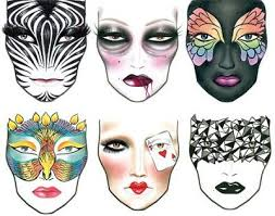 2009 Mac Halloween Face Charts And Images My Insane