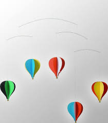 flensted balloon hanging ceiling mobile nursery decoration – www
