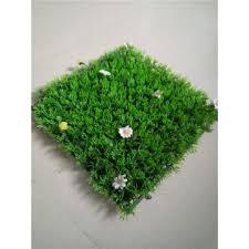 china plastic grass material artificial boxwood mat milan grass mat for wall decoration