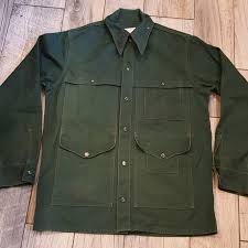 Filson Vest Size Chart Filson Usfs Vtg Tin Cloth Cruiser Jacket Men Xl 40