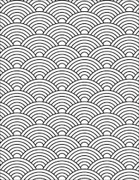 Japanese Wave Pattern Stunning Japanese Wave Pattern Coloring Page Free Printable Coloring Pages