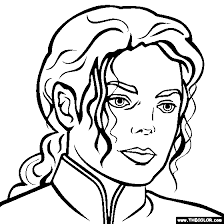 Small Picture Michael Jackson Coloring Page Michael Jackson Coloring